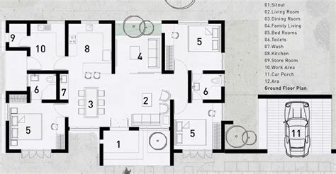 Simple 3 Bedroom Budget Home Design with Free Plan - Free