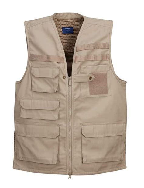 Men's Lightweight Tactical Vest in Available 2 Colors By