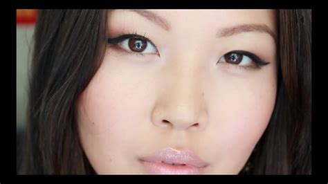 Quick Everyday Makeup for Asian Eyes + Favorite Drugstore