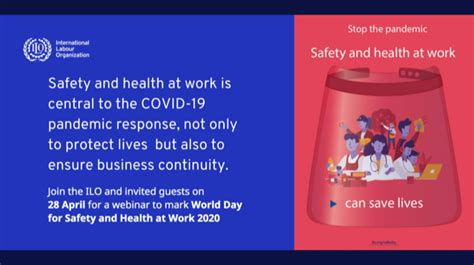 Webinar: Stop the pandemic: Safety and health at work can