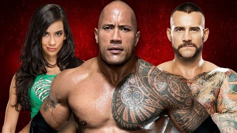 The Rock Evokes CM Punk and AJ Lee in a Big Way for Crowd