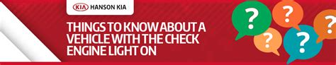 4 Things To Know About Your Check Engine Light | Kia