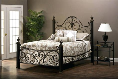 Black Iron Platform Bed — Mariah Houghton Collection from