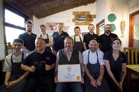The Crab House in Dorset wins Best Seafood award