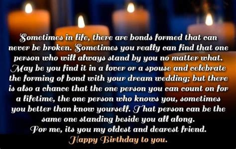 Long Birthday Messages For Best Friend Long Birthday
