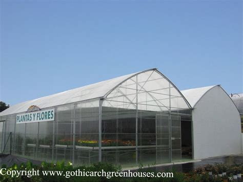 Retractable Roof Greenhouses| Gothic Arch Greenhouses
