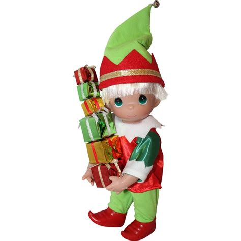 Precious Moments Loads of Christmas Cheer 9 Inch Elf Doll