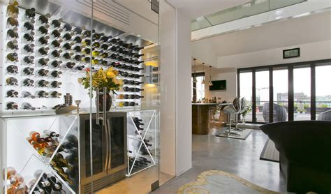 The ultimate climate-controlled wine walls and spiral