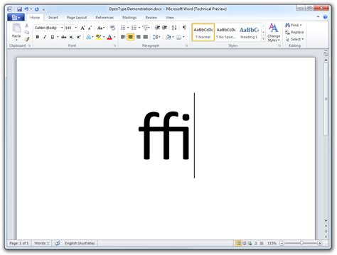 11 Fonts For Microsoft Word 2010 Images - Microsoft Word