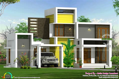 16 lakhs house plan architecture - Kerala home design and