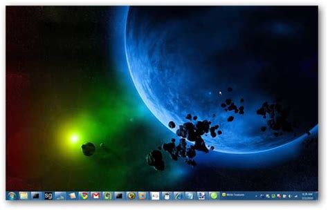 How to Change the Windows 7 Taskbar Color With No Extra