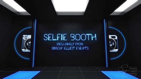 Selfie Booth by Simon Elliot Events - YouTube