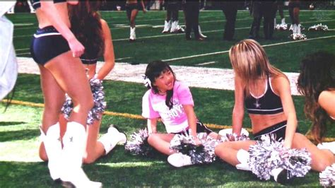 9-year-old spends day as Dallas Cowboys cheerleader