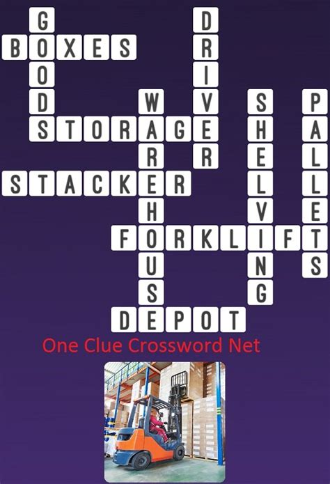 Forklift - Get Answers for One Clue Crossword Now