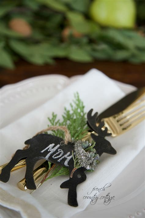5 favorite simple & easy holiday place setting ideas