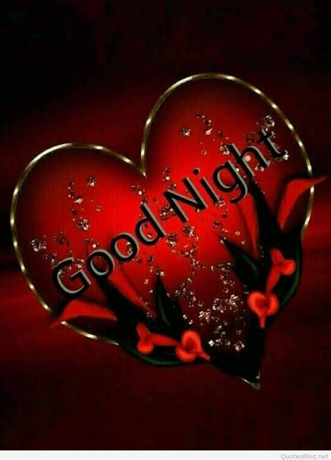 Good Night Heart Images and Wallpapers