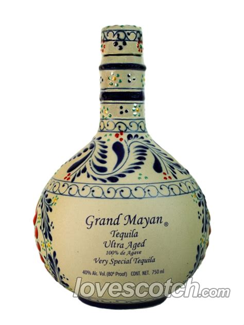 Grand Mayan Ultra Aged Tequila - Buy Online - LoveScotch